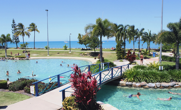 Home exchange in,Australia,Airlie Beach,Airlie Beach Lagoon at your doorstep