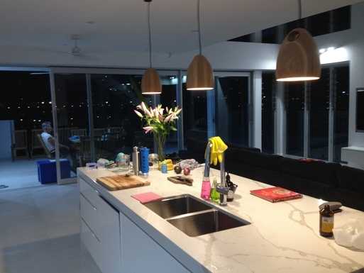 Home exchange in,Australia,Townsville,Entertaining at night.