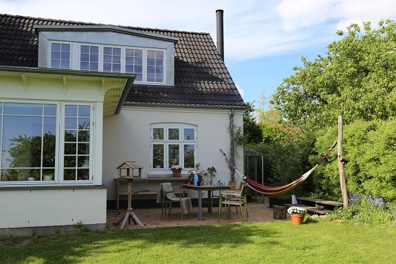 Kodinvaihdon maa Tanska,Ry, Søhøjlandet,Familyhouse in village, close to nature.,Home Exchange Listing Image