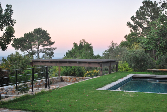 BoligBytte til,South Africa,Somerset West,Pool - view of see and Cape Point in far distance