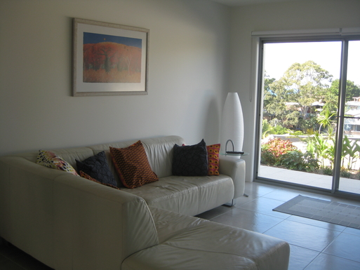 Home exchange in,Australia,Korora,Downstairs chill out area