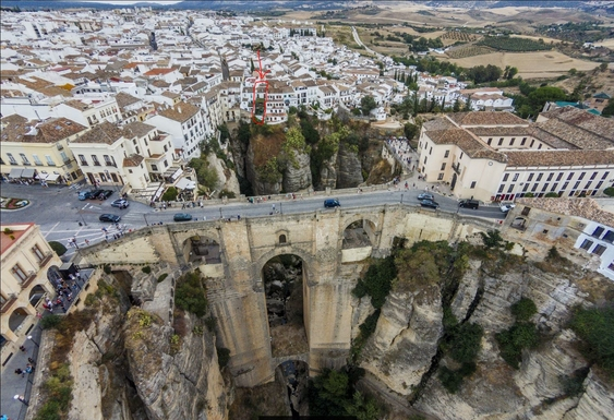 Home exchange in Spain,Ronda, Malaga,Home on the cliff in Ronda, Spain,Home Exchange  Holiday Listing Image
