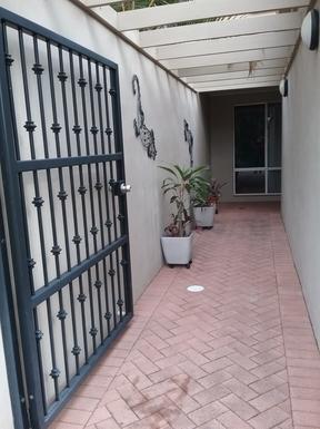 Home exchange in,Australia,RUNAWAY BAY,The entrance walkway to the front door