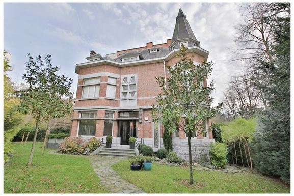home exchange in belgium uccle large mansion art déco style