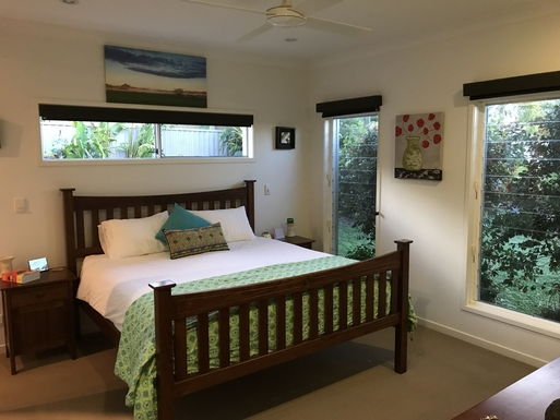 Home exchange in,Australia,POTTSVILLE,Main bedroom with ensuite and WIR