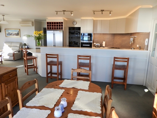 BoligBytte til,New Zealand,Nelson,Open plan kitchen/dining/family & walk-in pantry