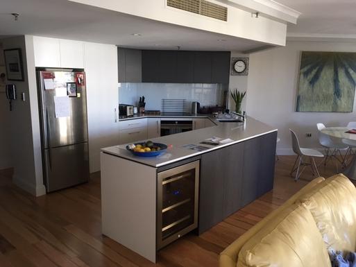 Home exchange in,Australia,Brisbane CBD,,Our recently refurbished kitchen