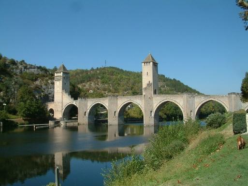BoligBytte til,France,St Maurice en Quercy,Le pont Valentre - Cahors