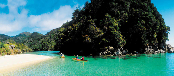 BoligBytte til,New Zealand,Nelson,Kayak or walk in Abel Tasman National Park