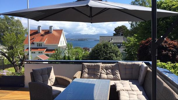 Fra verandaen - Nydelig utsikt