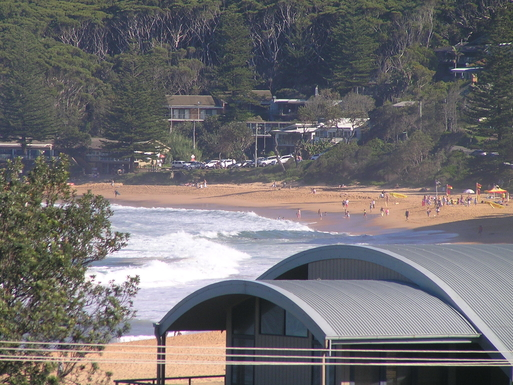 Home exchange in,Australia,COPACABANA,Macmasters Beach from upstairs