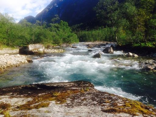 BoligBytte til,Norway,Bergen, 110k, SE,Ænesriver - for fishing or strolling!