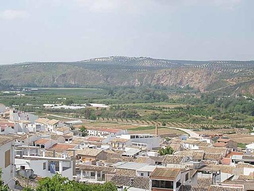 Vista del Pueblo de Cuevas Bajas