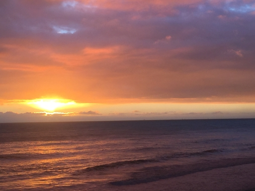 Stunning Sunset at Crystal Cove