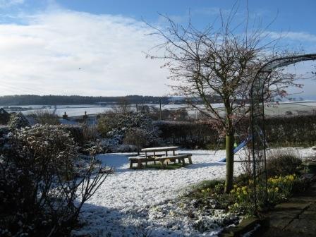Home exchange in,United Kingdom,Hexham,Garden in Winter