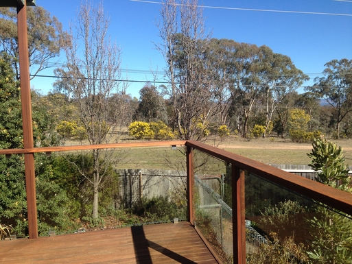 Home exchange in,Australia,CHIFLEY,Bushland from side deck