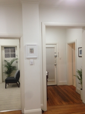 Home exchange in,Australia,Kirribilli, Sydney,Front door (on right)
