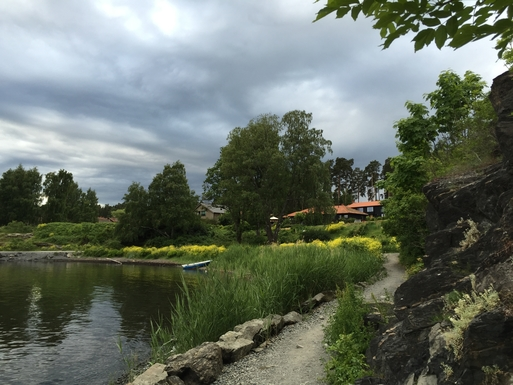 BoligBytte til,Norway,Høvik,Coast path for hiking 200 meters from the house