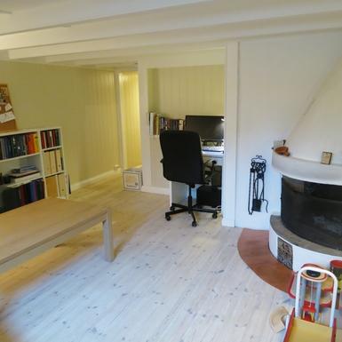 BoligBytte til,Norway,Bærum,Livingroom/playroom in the basement.