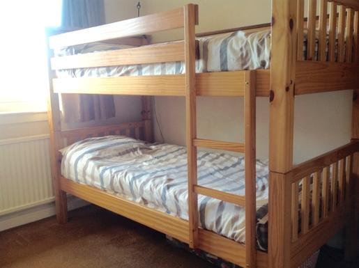 BoligBytte til,United Kingdom,Edinburgh,Bedroom with bunk beds