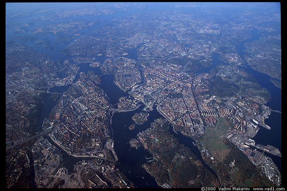BoligBytte til,Sweden,Stockholm, 0k, S,Sodermalm from above