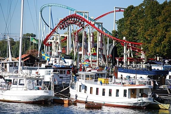 BoligBytte til,Sweden,Stockholm, 0k, S,Tivoli and boats to the archipelago