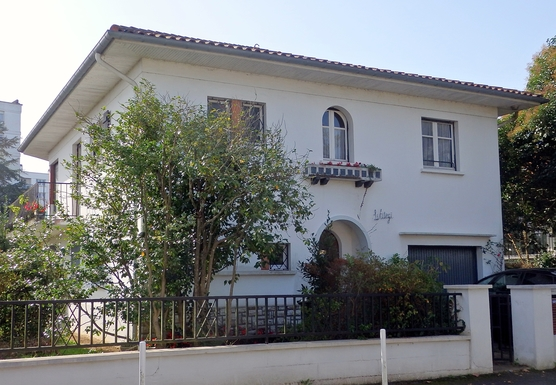 "Our villa ,  LILITEGI , on ""18 rue de Lasseguette"""