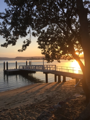 Home exchange in,Australia,DALEYS POINT,Ettalong Jetty where ferry leaves for Palm Beach