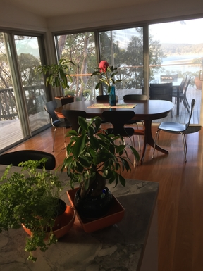 Home exchange in,Australia,DALEYS POINT,Dining area