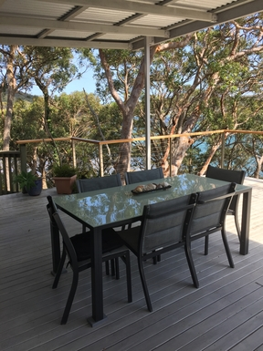 Home exchange in,Australia,DALEYS POINT,Outside dining