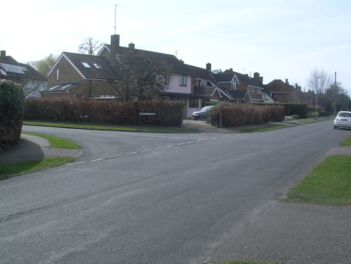 view of house from Thornton Road