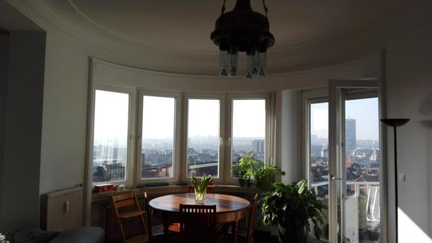 BoligBytte til,Belgium,Bruxelles,vue depuis la salle à manger