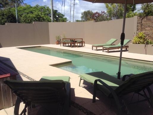 Home exchange in,Australia,WOOLGOOLGA,Lap pool in private yard
