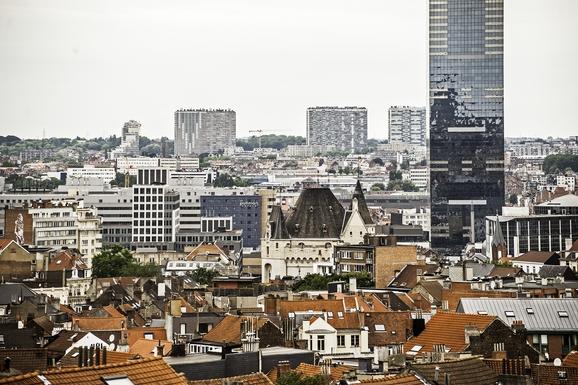 BoligBytte til,Belgium,Bruxelles,vue sur Bruxelles depuis la salle à manger