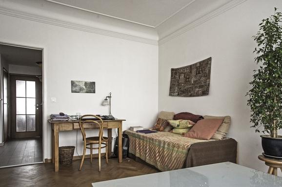 BoligBytte til,Belgium,Bruxelles,chambre d'amis - bureau