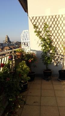 BoligBytte til,Belgium,Bruxelles,balcon...très agréable pour l'apéro!