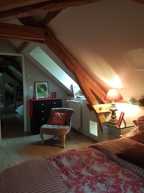 BoligBytte til,France,Rocamadour,Bedroom with double bed
