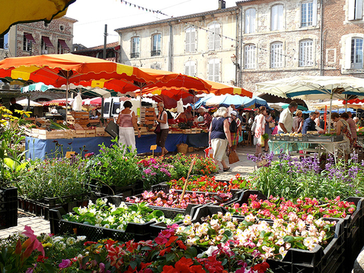 BoligBytte til,France,Rocamadour,Farmers' markets virtually daily in the area
