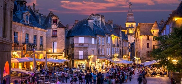 Home exchange in,France,Rocamadour,Sarlat, intact, walled Renaissance town
