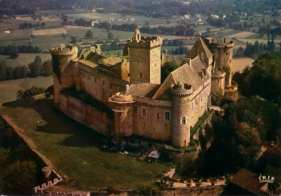 Home exchange in,France,Rocamadour,Fortress of Castelnau-Bretenoux