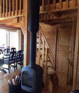 BoligBytte til,Norway,Voss,A cosy fireplace