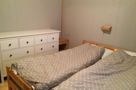 BoligBytte til,Norway,Voss,Two bedrooms with a double size comfortable bed