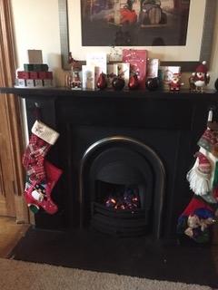 BoligBytte til,United Kingdom,Edinburgh,Warm and cozy (gas)fire, with fireguard if needed