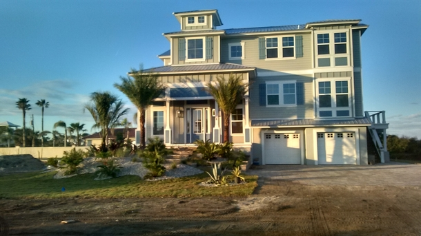 Front of Beachfront House
