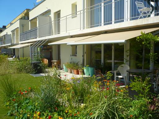 Scambi casa in: Svizzera,Evilard, Kanton Bern,Zweizimmer-Wohnung mit gr. Gartensitzplatz,Immagine dell'inserzione per lo scambio di case
