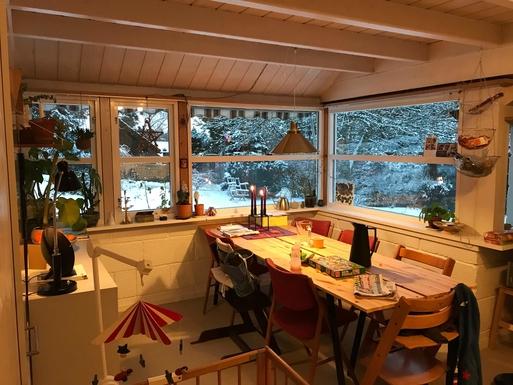 BoligBytte til,Norway,OSLO,Kitchen in wintertime.