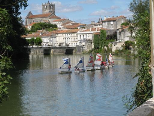 La Charente à Saint Savinien