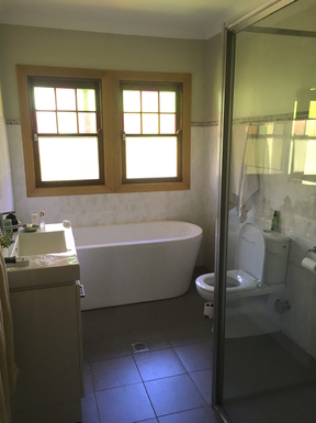Home exchange in,Australia,Leura,bathroom (there is also an ensuite)