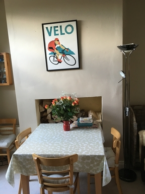 BoligBytte til,United Kingdom,York,Dining area - table is extendable to sit 6