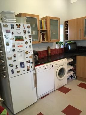 BoligBytte til,United Kingdom,York,Kitchen with fridge freezer, dishwasher and washer